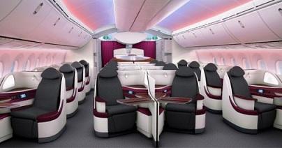 Qatar Airways - Boeing 787 - Business Class