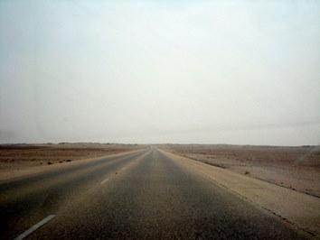 Najnudniejsza droga na świecie - Maskat-Salalah