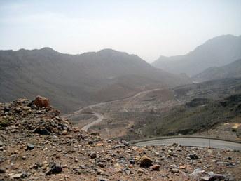 Droga na Jebel Akhdar w Omanie