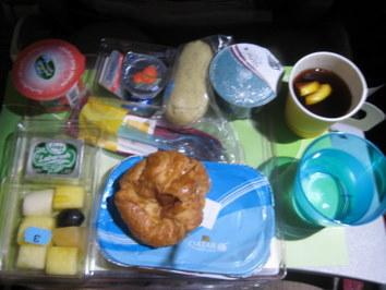 Qatar Airways - posiłek w najlepszej klasie ekonomicznej na świecie :)
