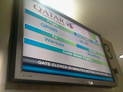 QR980 - boarding
