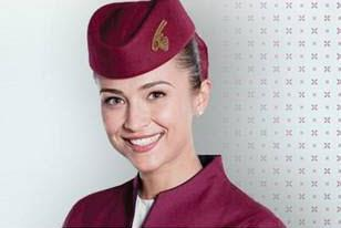Qatar Airways Girl 2012