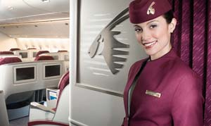 Qatar Airways - best business class in the world 2010