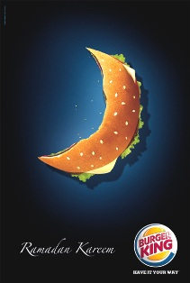 Ramadan Kareem - Burger King ad