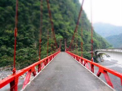 Tajwan. Nad wąwozem Taroko