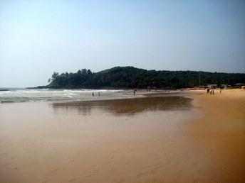 Plaża w Baga, Goa