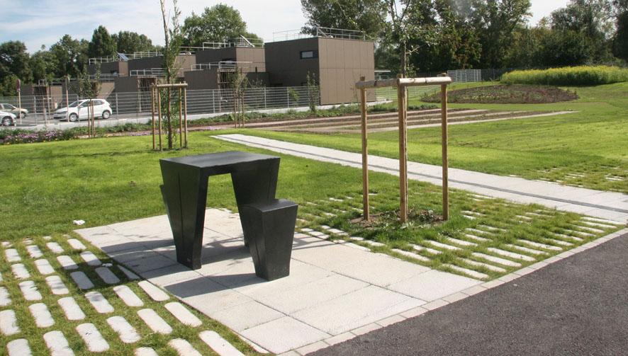 Aménagement paysager d'une cour d'école