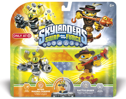 The Double Packs Are Coming In Skylanders SWAP Force