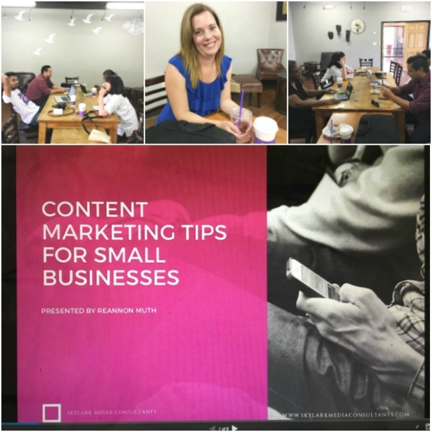 Content marketing workshop in Las Vegas