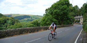Cragg Vale - for much of its length surrounded by woodland