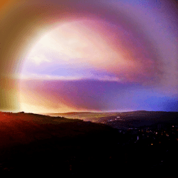 Weather effects over Skylark country
