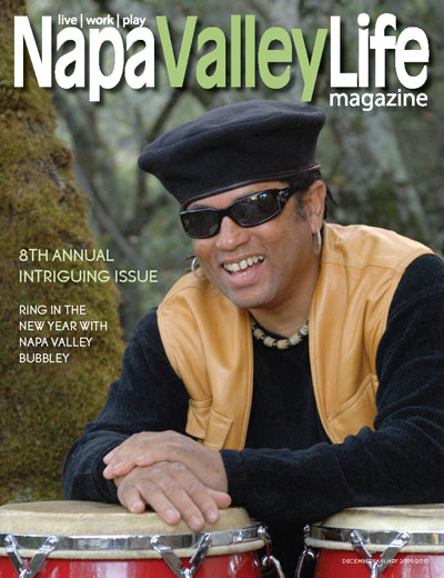 Skyler Napa Valley Life Magazine cover