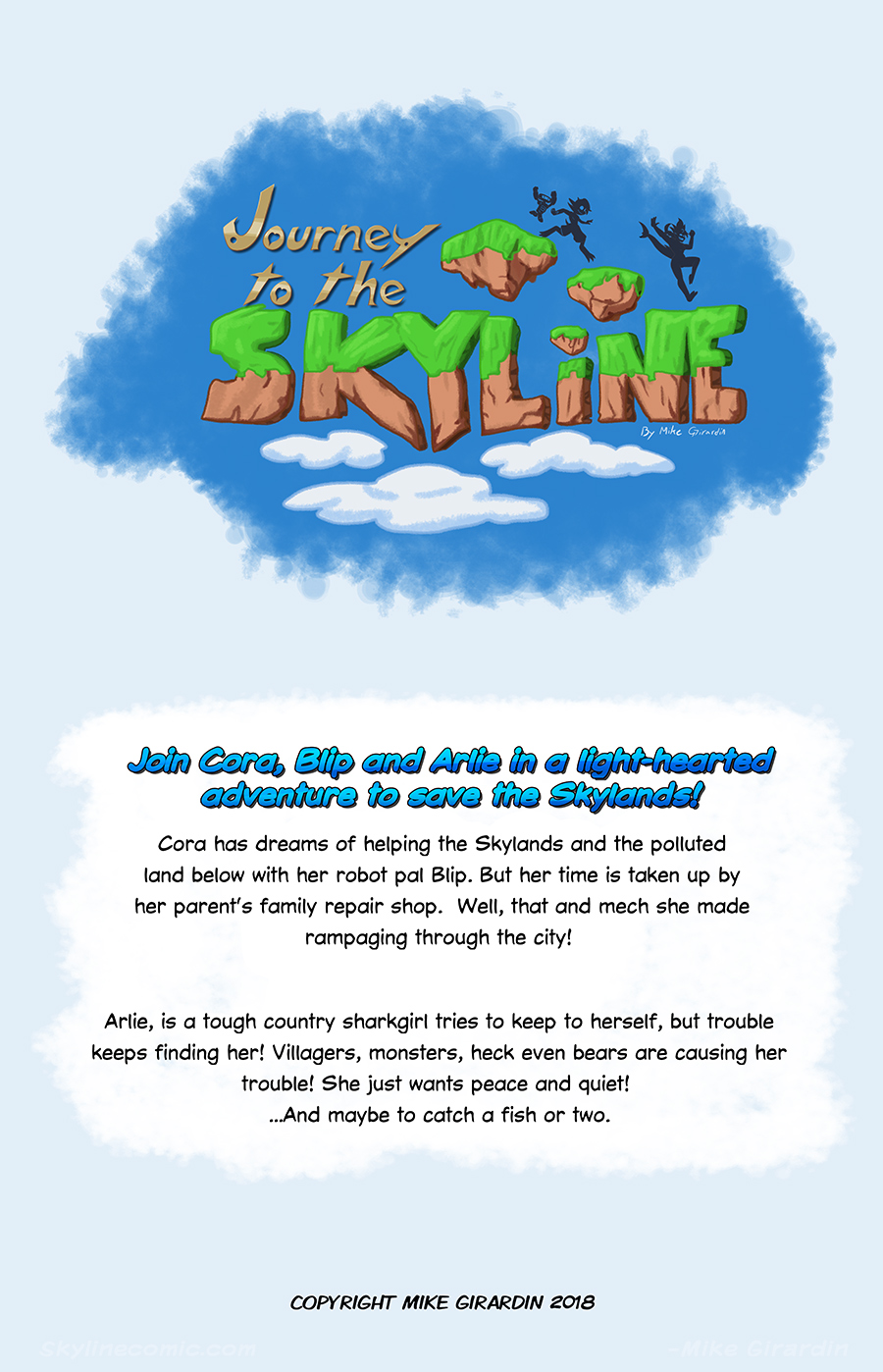 Journey to the Skyline Issue 01 back cover