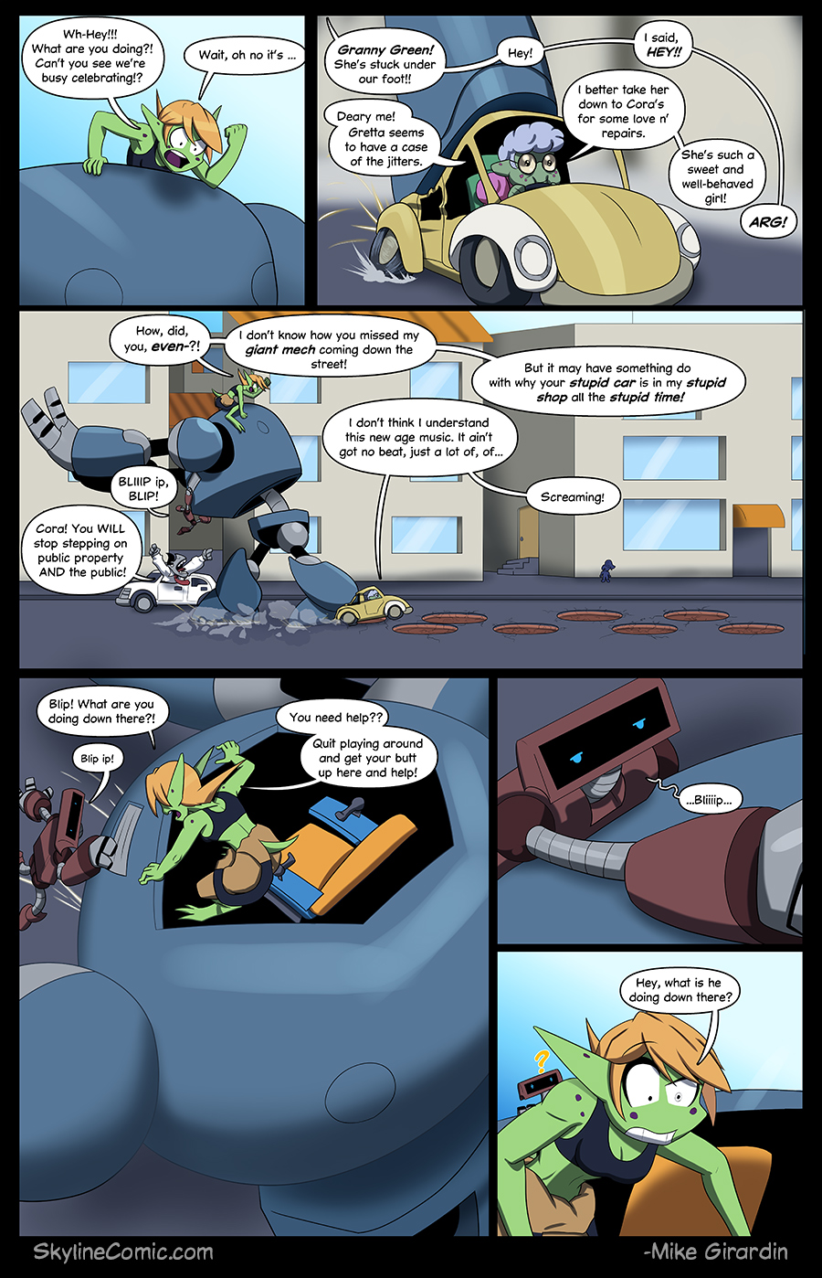 Journey to the Skyline Issue 01 Pg 07