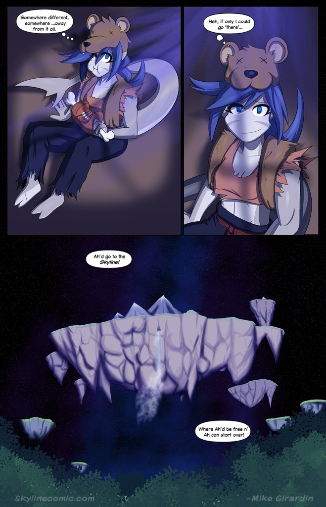 Journey to the Skyline Issue 01 Page 023
