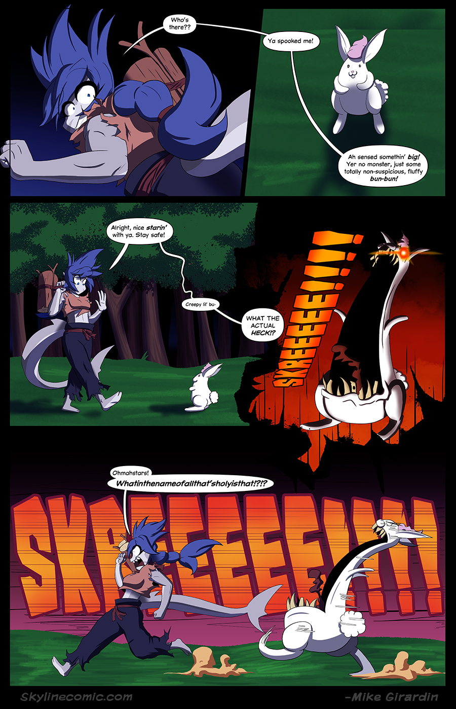 Journey to the Skyline Issue 02 Pg 08