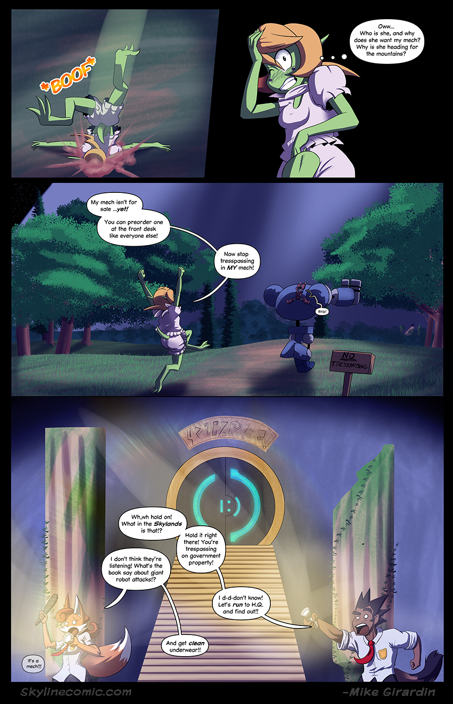 Journey to the Skyline Issue 02 Pg 17