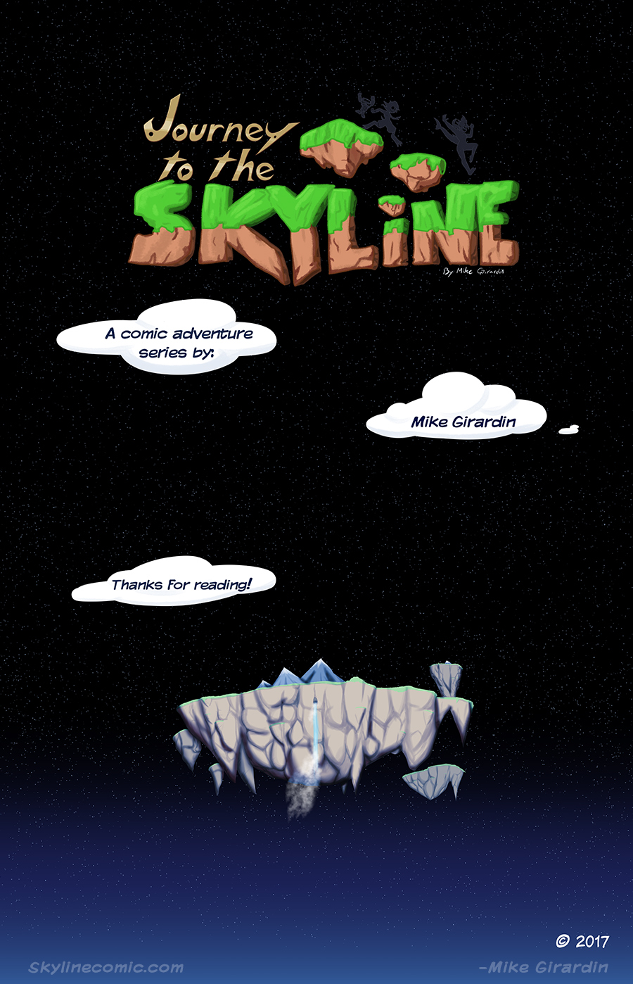 Journey to the Skyline Issue 02 credits