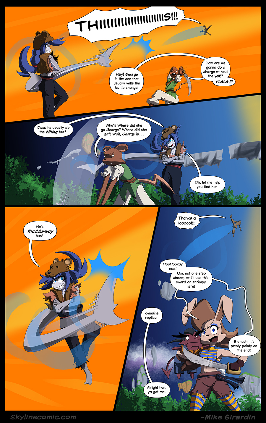 Journey to the Skyline issue 03 page 14