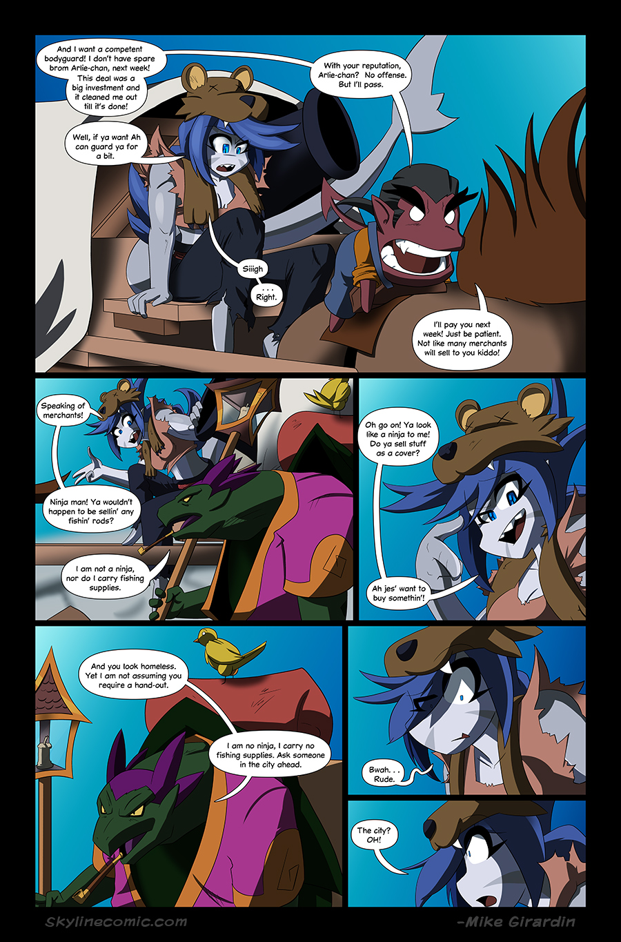 Journey to the Skyline issue 03 page 17