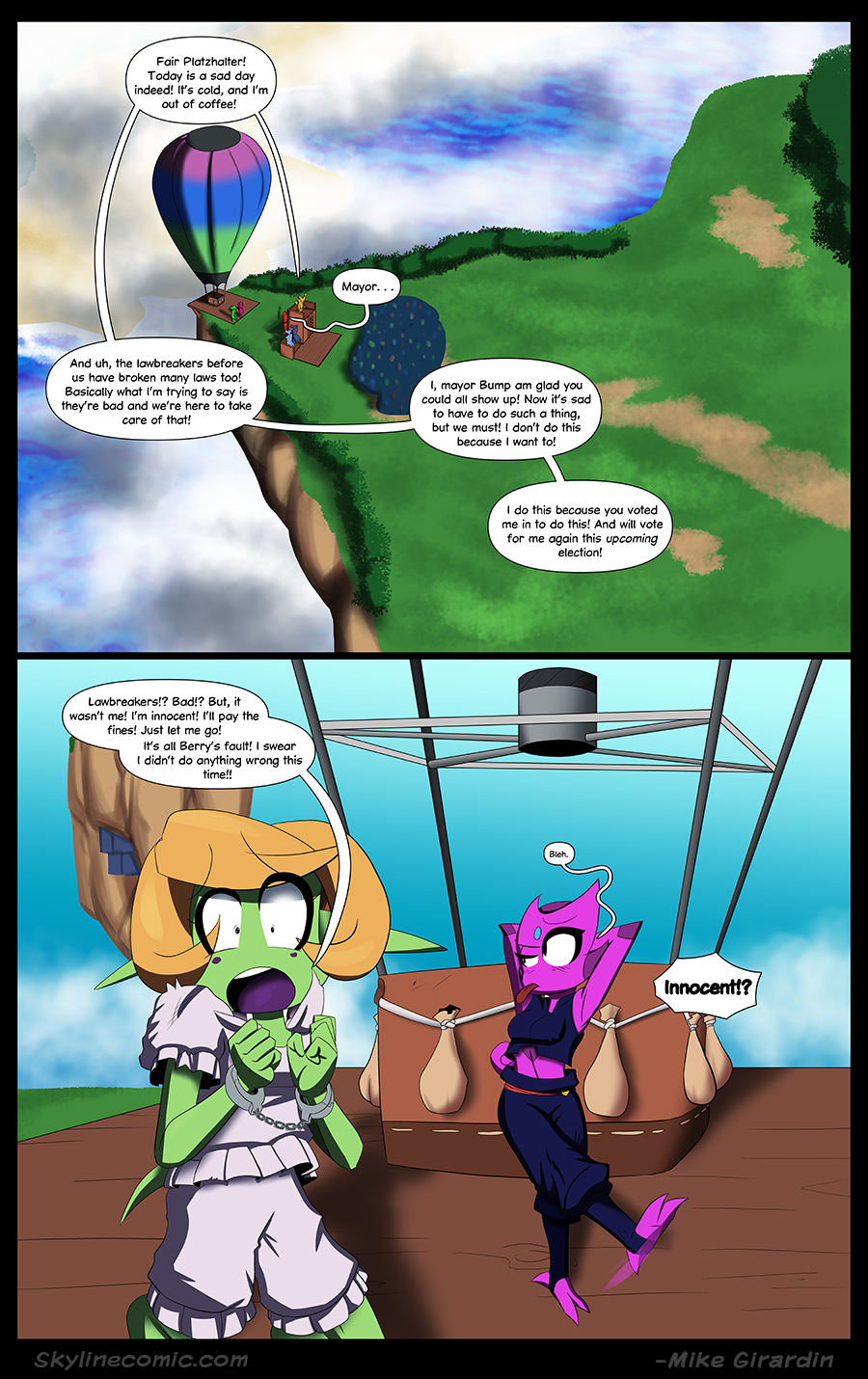 Journey to the Skyline issue 03 page 20