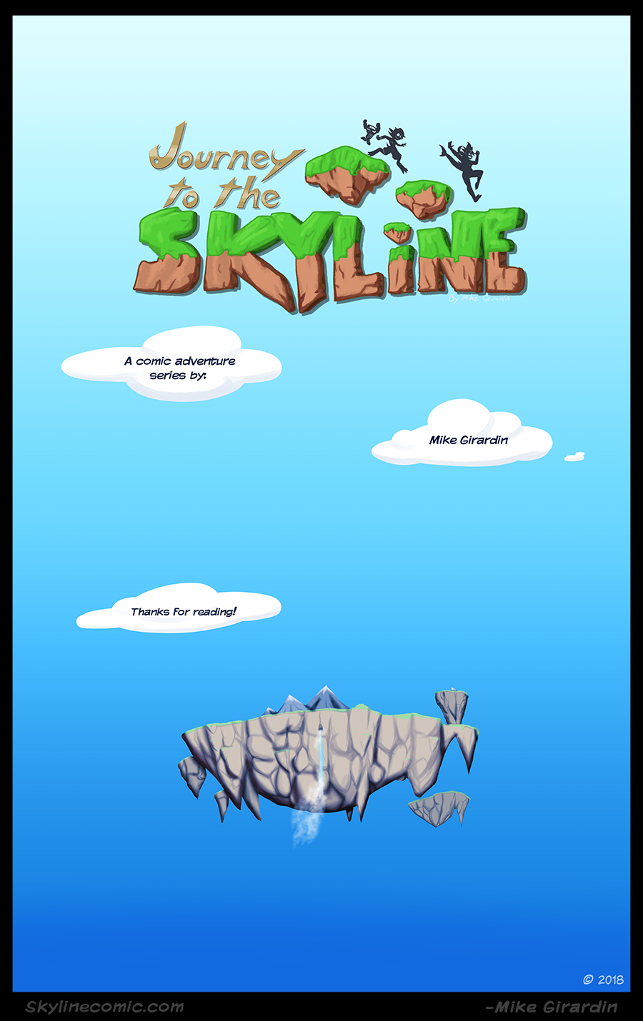 Journey to the Skyline Issue 03 credits