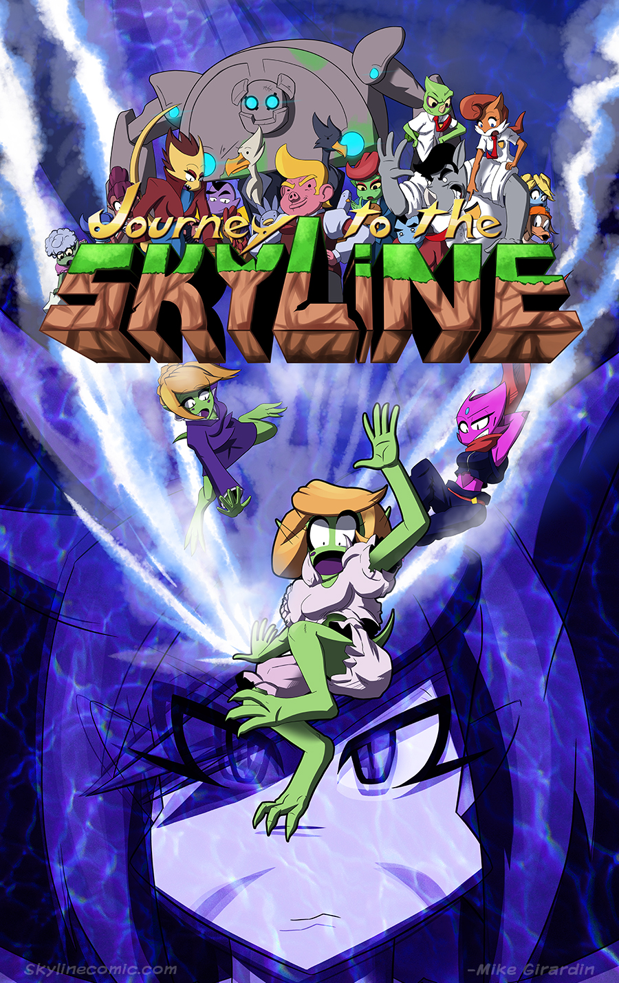 Journey to the Skyline issue 04 cover
