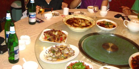 Social eating in China, just roll the table!