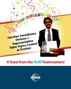 Congrats Harshan
