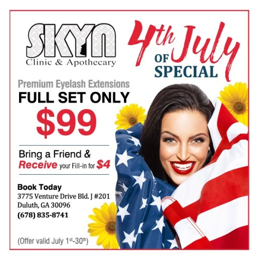 skyn clinic 4th of july sale