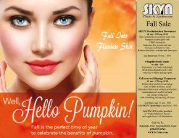 Fall Skincare Sale