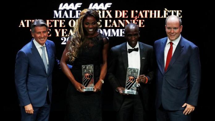 Kenya's Eliud Kipchoge wins IAAF male athlete of 2018