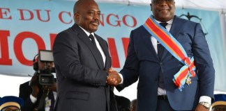 DR Congo ushers in new president in historic transition