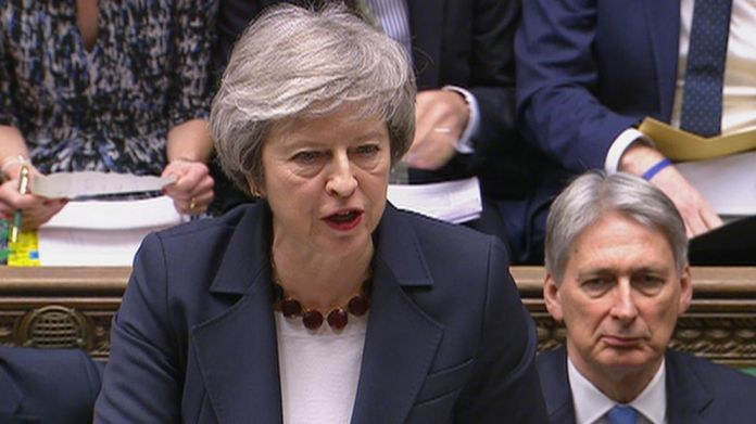 May courts Labour MPs after two Brexit defeats in two days narrow her options