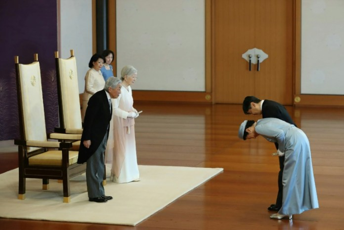 Pine room and a secret jewel: Japan abdication rituals