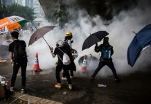 Pressure mounts on Hong Kong leader from her own allies