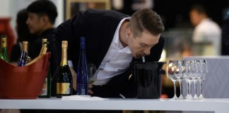 A waste of good wine? Non! Spitting is essential to tasting