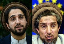 Son of famed Afghan commander Massoud steps into spotlight