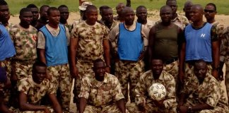 Nigerian Army to engage local football club 'Plateau United'
