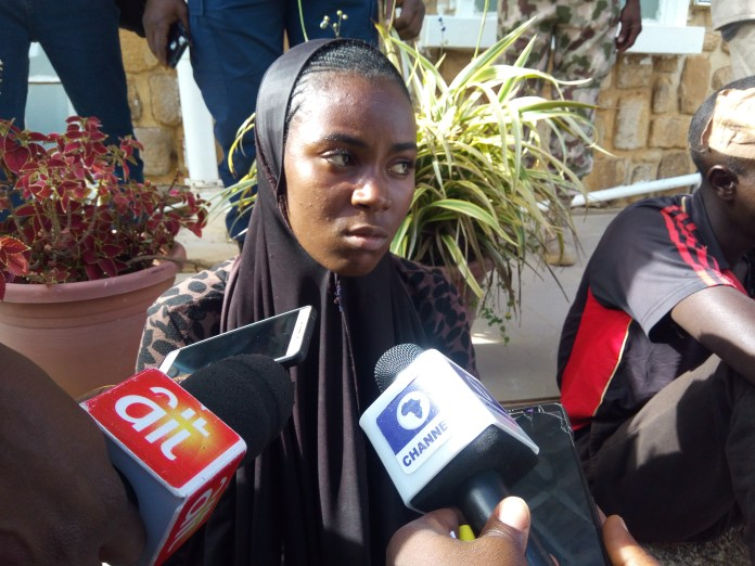 My husband thought me how to use gun at age 16, lady confess to Nigeria's Military Taskforce