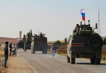 Russian forces head for Syrian-Turkish border in blow to Kurds