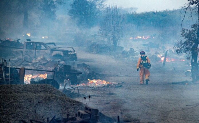 State of emergency declared as California wildfires rage