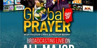 sky news africa Pastors Chris, Benny Hinn lead 2 billion people in world largest prayer event today