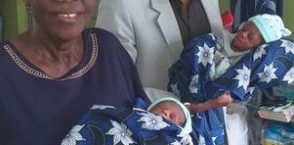 sky news africa 68-year-old Nigerian delivers twins in Lagos hospital