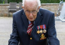 sky news africa WWII veteran, 99, raises £13 mn for UK health workers