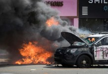 skynewsafrica Troops, police clamp down in US cities as unrest over racism flares