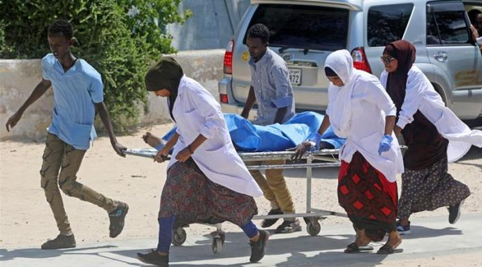 sky news africa Suicide bomber kills 2 at Turkish military base in Somalia