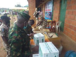 sky news africa Nigerian Military takes free medicals to S/Kaduna