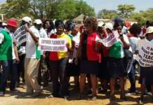 sky news africa Zimbabwe teachers stike over pay as new term starts