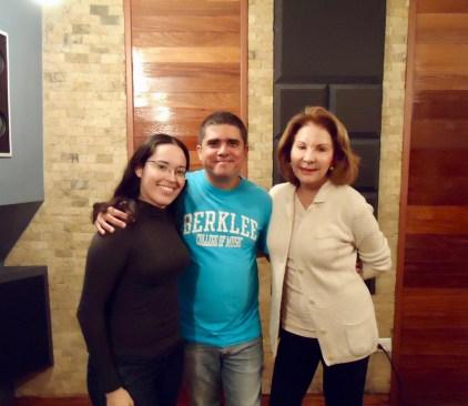 Isabel, Justo y la Sra. Carmen Leonor